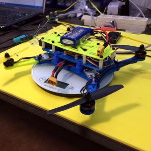 spainlabs escuadron quadcopter 3d printed
