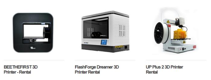the3dprinter rent