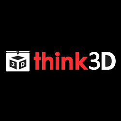 think3d logo 3d printing in india feature