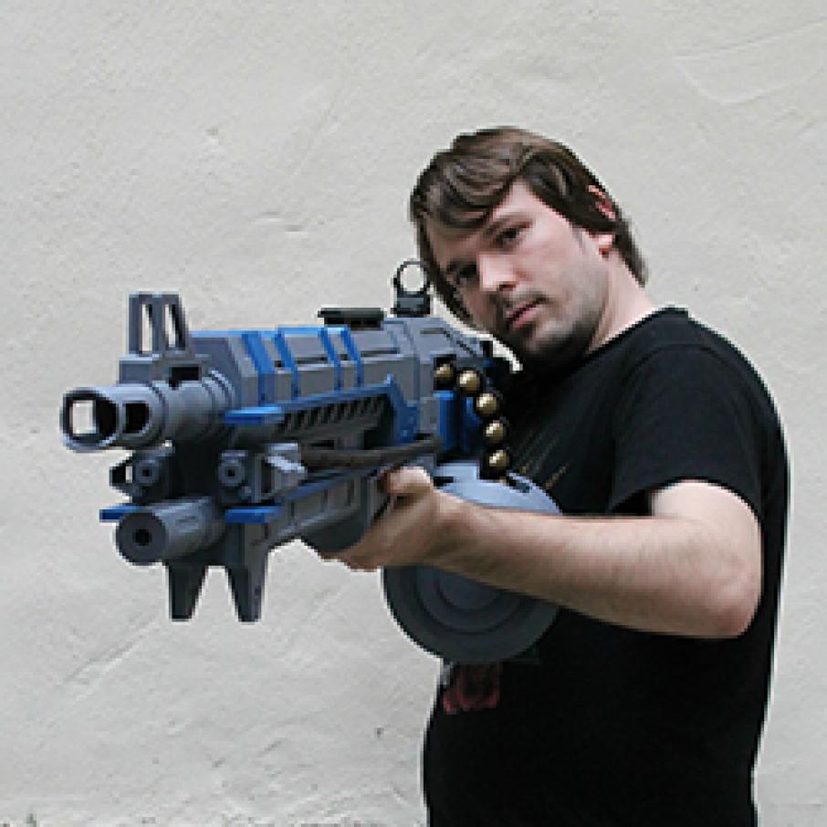 3d Gun Image 3d Home Architect: 4.5 Foot 3DP Destiny Gun Replica