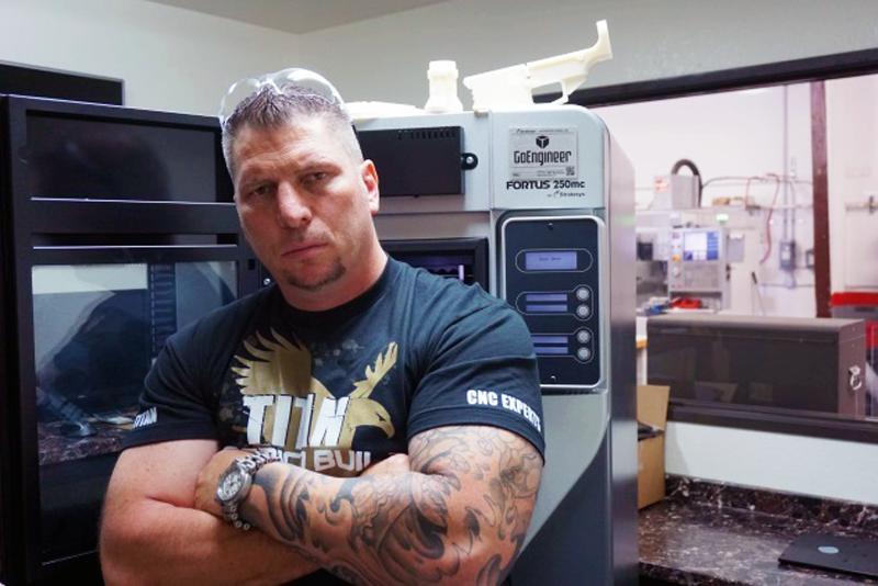 titan american built stratasys 3D printer