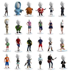 3d printed u_statue_model styles