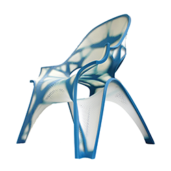 zha 3d printed chair 3d printing industry feature
