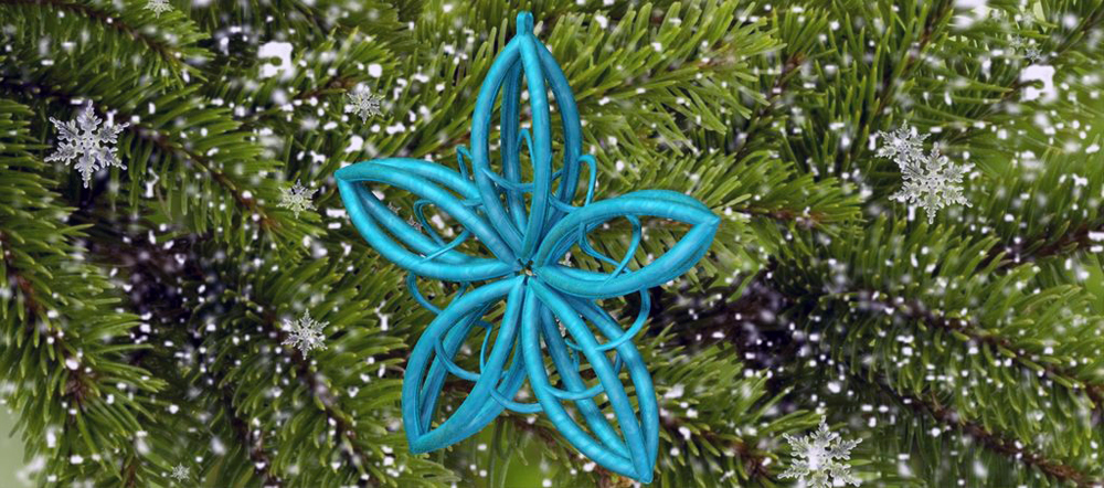1 3D printed ornament Star of Bliss by Elroyo