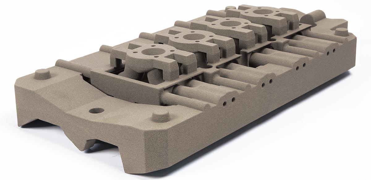 2 Phenolic-bounded sand mold