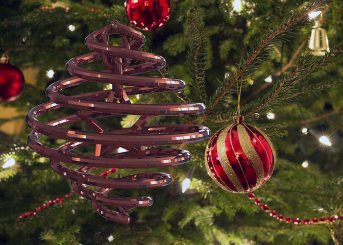 It's just a photo of Hilaire 3d Print Christmas Ornaments