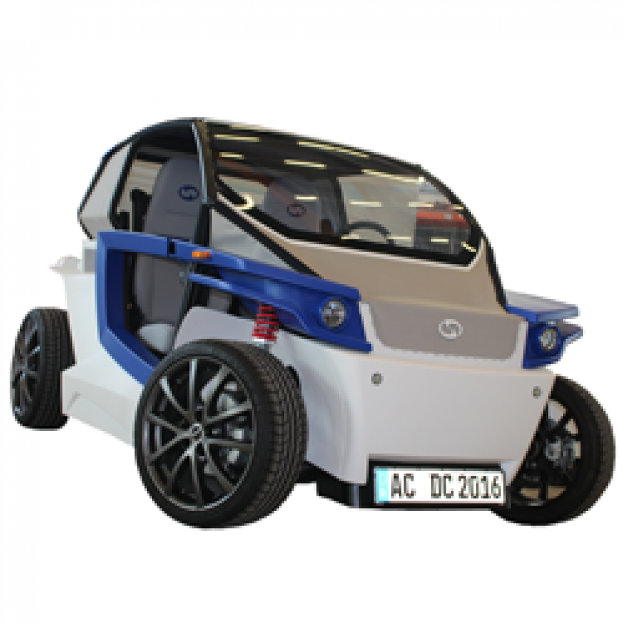 StreetScooter C16 3D Printed Car