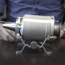 3D printed mini jet engine from GE