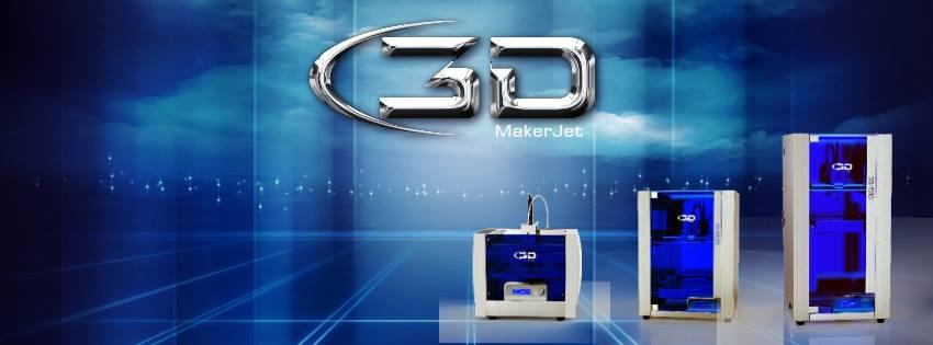 3d makerjet 3d printing