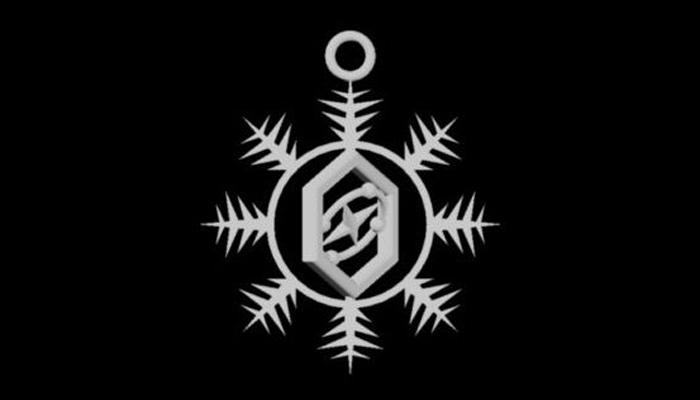 3d printed Gyro Snowflake by TradeShades