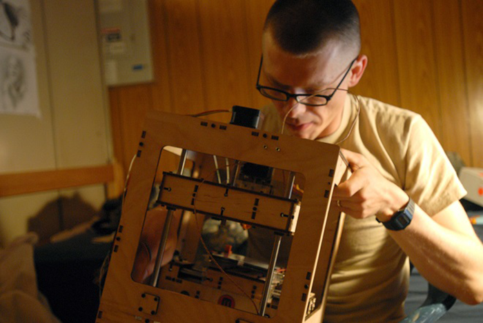 3d printing in army