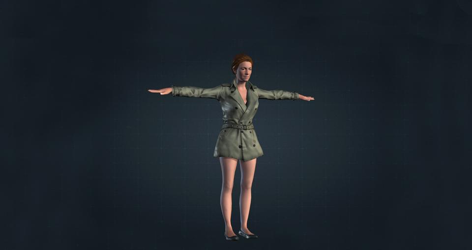 Body Labs 3d model clothes