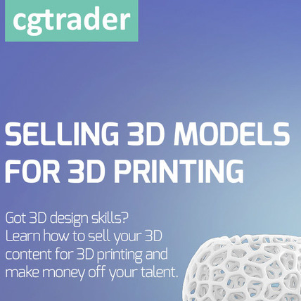 CGtrader infographic 3d printing