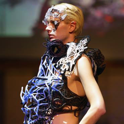 Maartje Dijkstra 3D printed hard core vein 2.0 dress