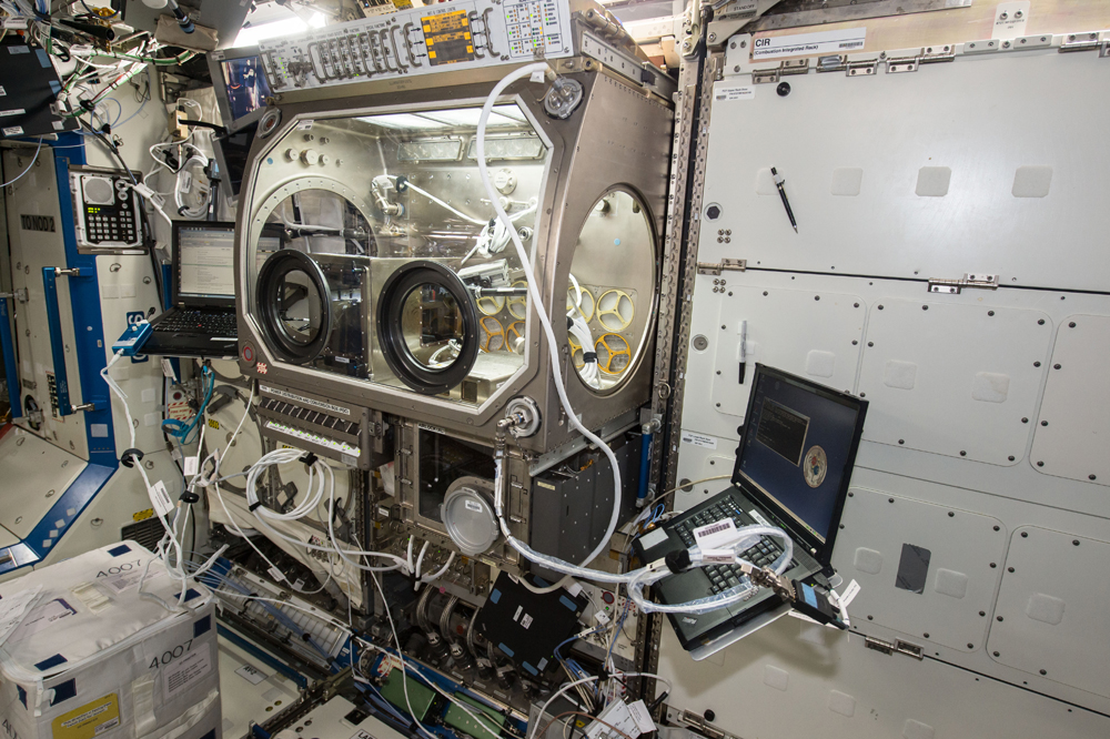 Made in Space 3D printer aboard ISS