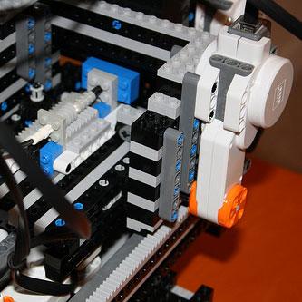 Mak3rLEGObot3d printer