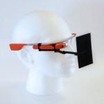 Stéphane Allary 3d printing google glass selfie