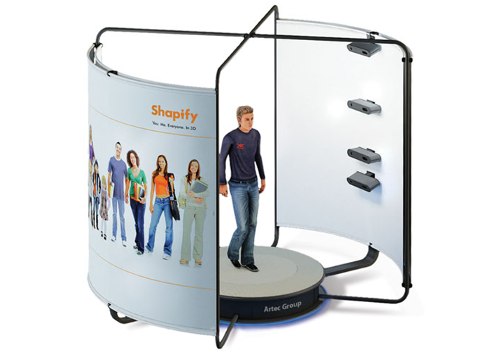 artec_shapify_3d scanning booth