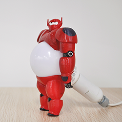 Let Your 3D Printed Baymax Nightlight Protect You from Darkness