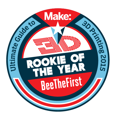 beethefirst rookie 3d printer make