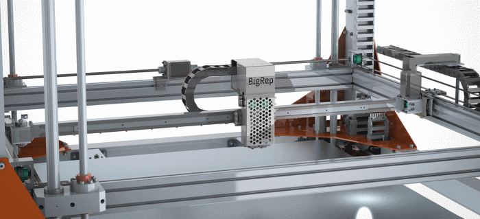 Bigrep receives significant funding for the 1 3 m build for 3d printer build plans