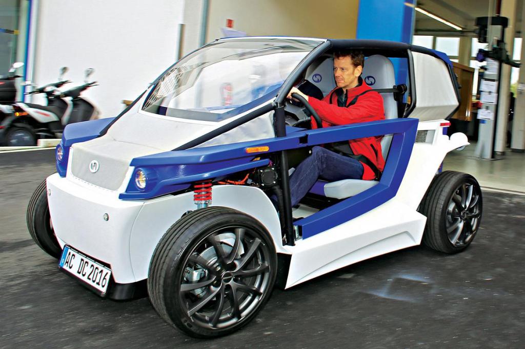 StreetScooter coche impresión 3D