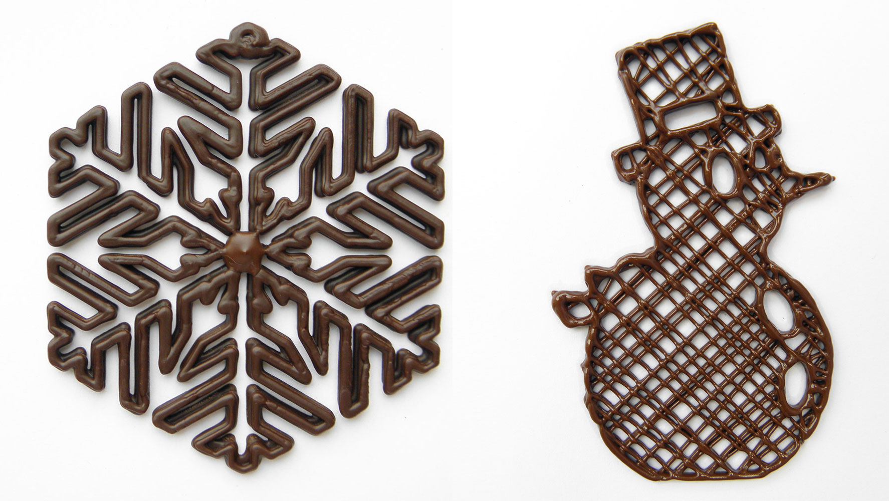 Christmas 3D Printed Chocolate Designs Printing Industry