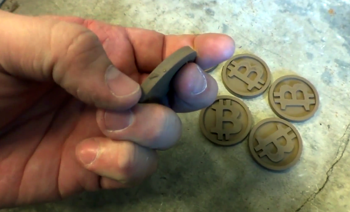 3d printed bitcoins_prepolish ugh