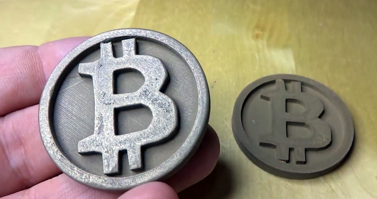 3d printed bitcoins_sidebyside