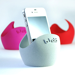 B-hold 3d printed sound pod feature