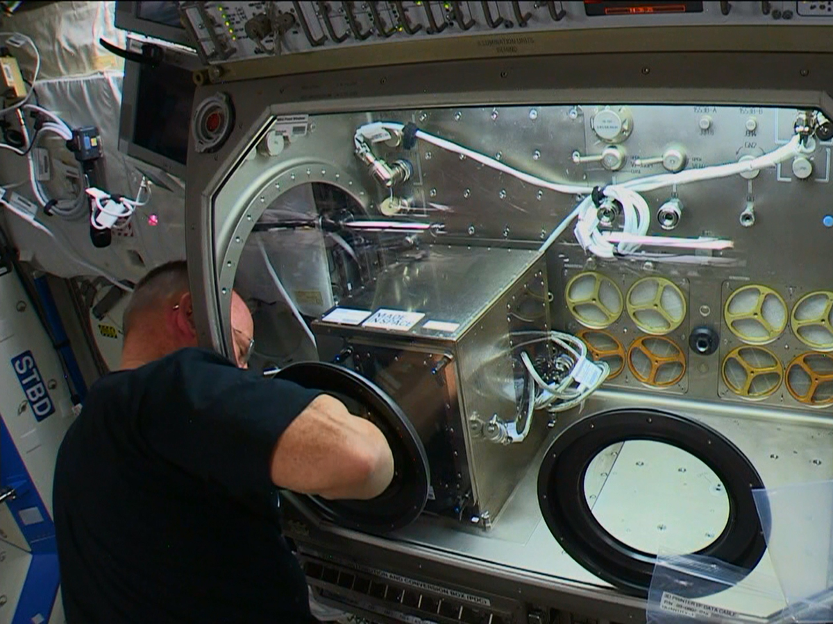 made in space 3d printer ISS