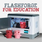 flashforge 3d printer education imakr
