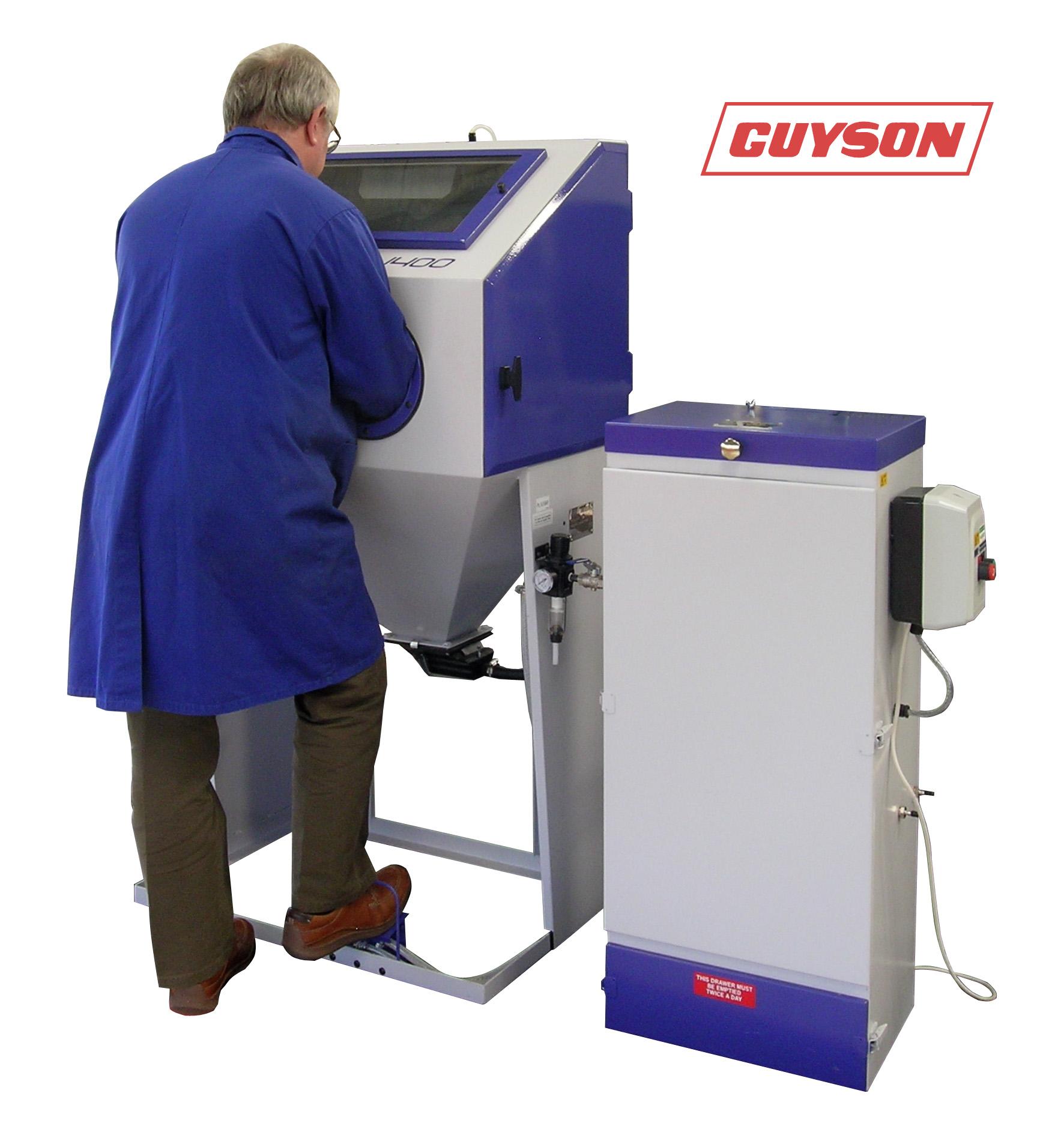 guyson f1400 blast cabinets