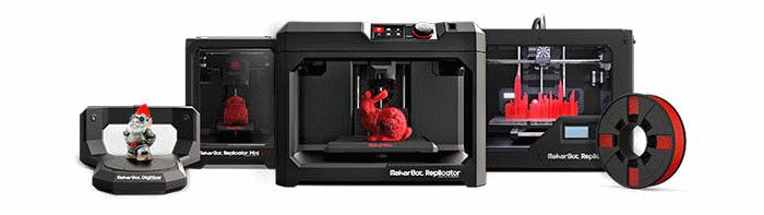 imakr 3d printing store makerbot