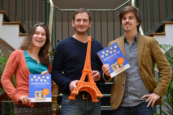 impression 3d pas a pas 3d printing book authors