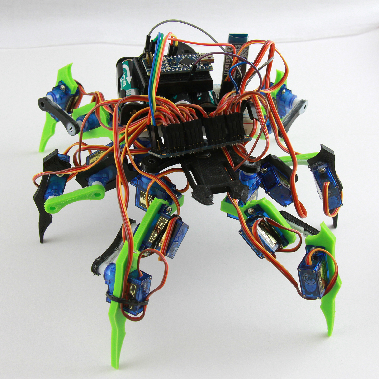 3d printed insectoid robot feature