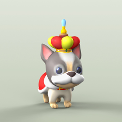 launzer 3D printed dibidogs king