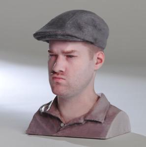 mcor head 3d printing