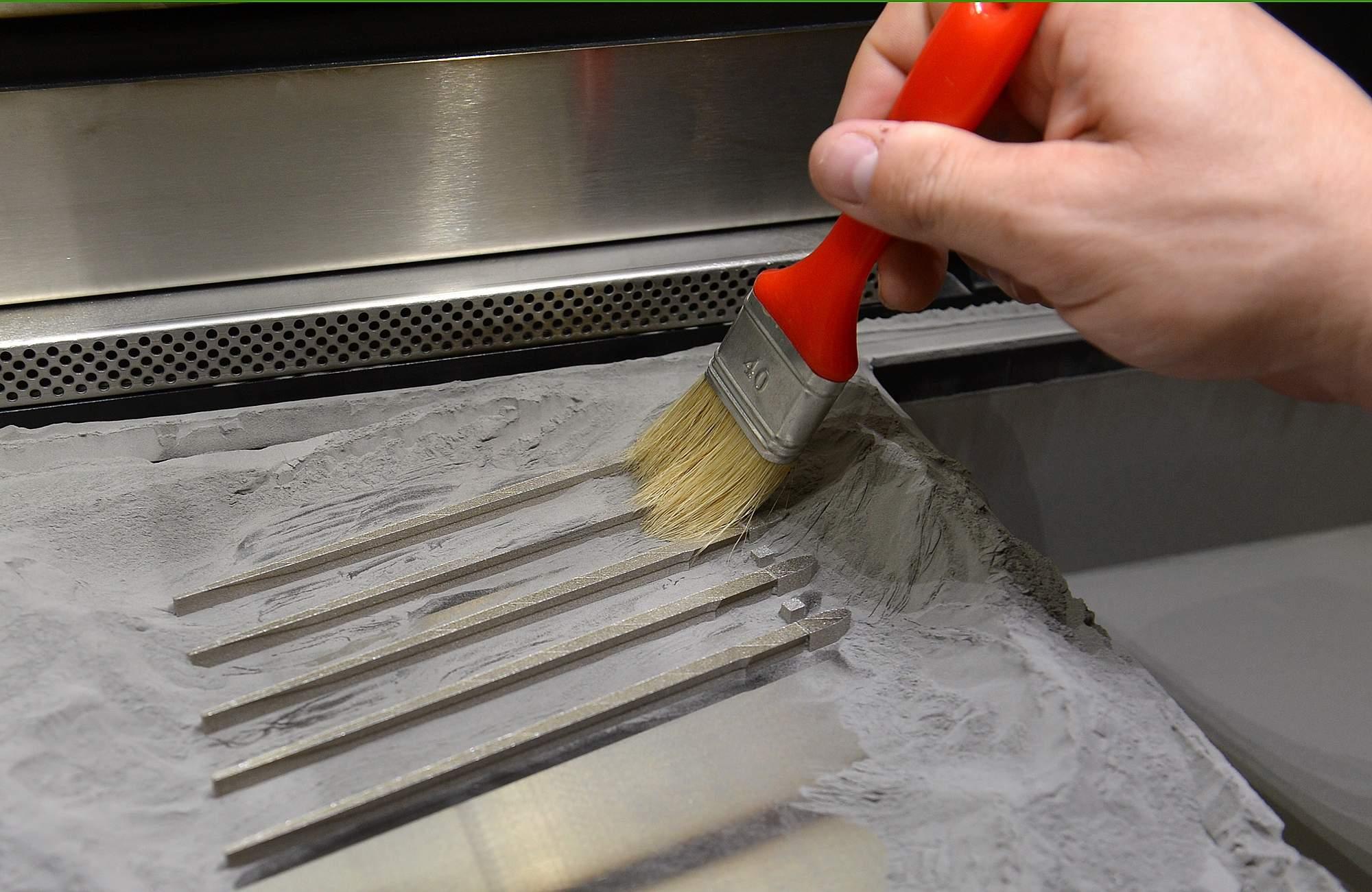 metal 3d printing clean