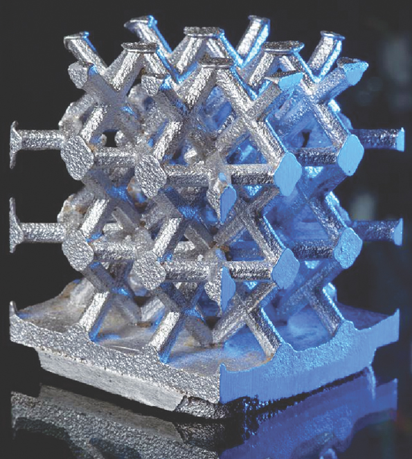 Efficient Metal 3D Printed Part Stress Test