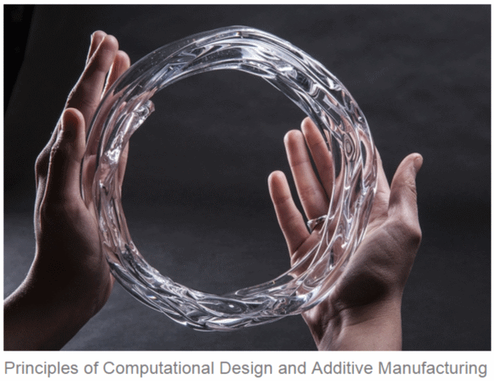 Mediated Matter MIT Glass 3d printing