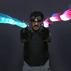 noe ruiz adafruit 3D printed ray gun