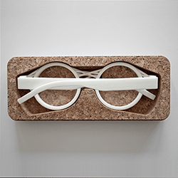 3D Printing Custom Eyeglasses with Oak & Dust