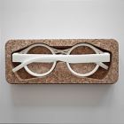 3D Printing Custom Eyeglasses with Oak & Dust
