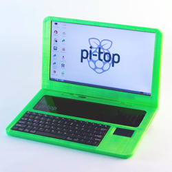 pi-top 3D printed raspberry pi laptop