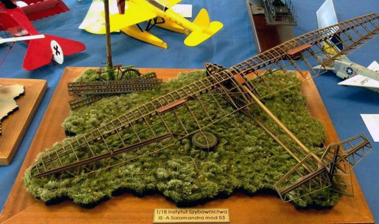 3d printed model plane_diorama_full