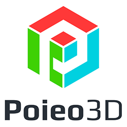 poieo 3d printer logo