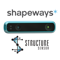 shapeways 3D printing contest for structure sensor iphone 6 case