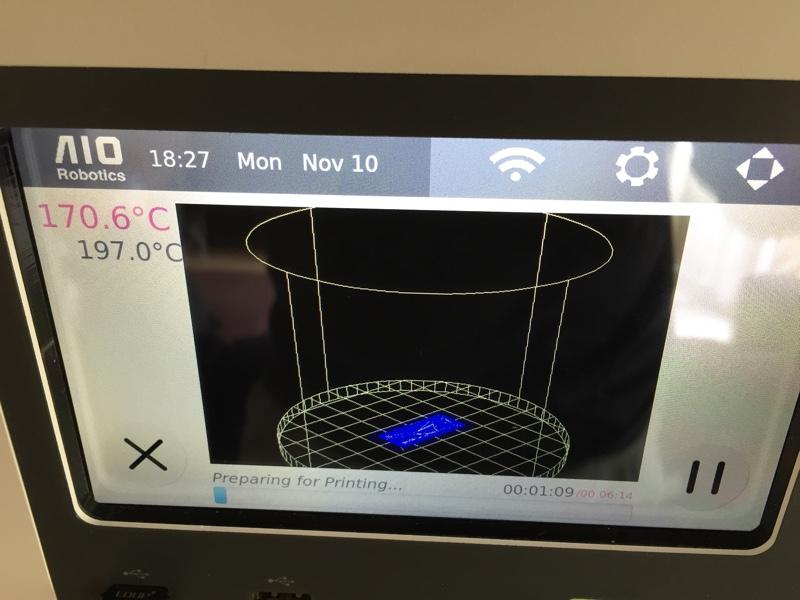 sliced zeus 3d printer aio robotics