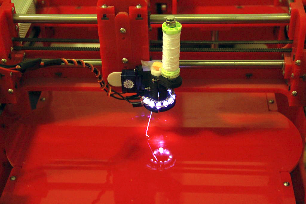 spiderman 3D printer from sebastian morales